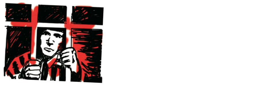 gevangene rood