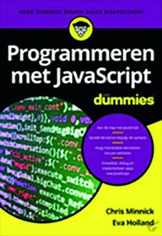 cover Programmeren met Javascript