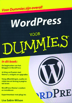 Cover Wordpress voor Dummies