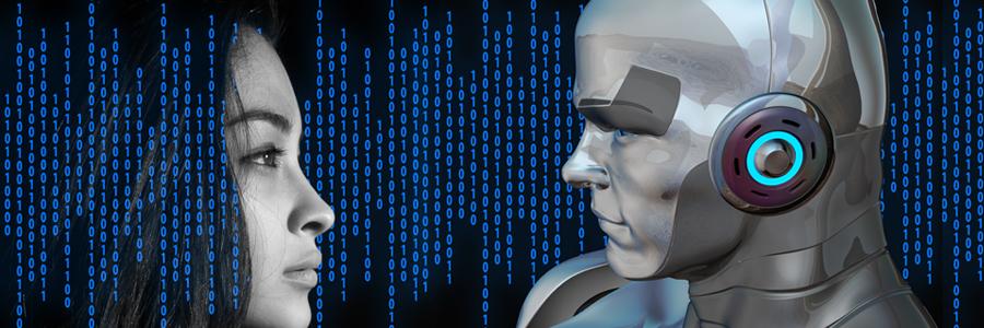 kunstmatige intelligentie afbeelding